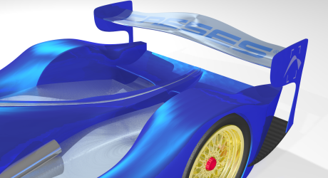 Rear Wing, created with CAESES