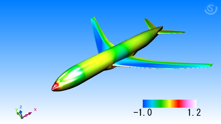 Cradle CFD compressible simulation of trans sonic flow